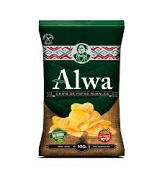 ALWA CHIPS DE PAPAS RURALES 100 GRS