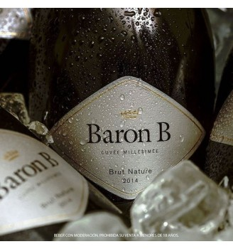 BARON B BRUT NATURE ESPUMANTE 750 CC