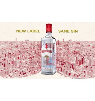 BEEFEATER LONDON DRY GIN 40° ALC.  700CC