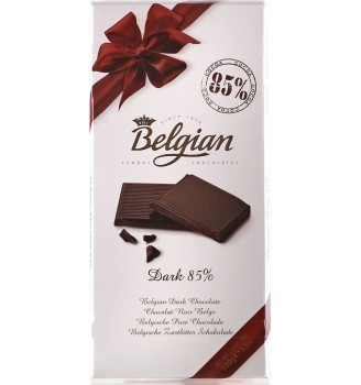 BELGIAN 85% CACAO 100GRS