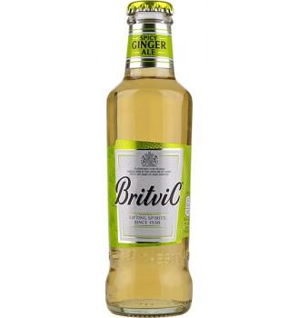 BRITVIC SPICY GINGER ALE BOTELLA DE VIDRIO  200CC