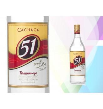 CACHACA 51 PREMIUM 1000CC