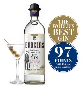 BROKERS LONDON DRY GIN 700CC
