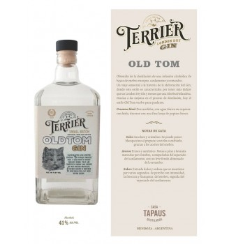 TERRIER OLD TOM GIN 41° ALC. 750CC