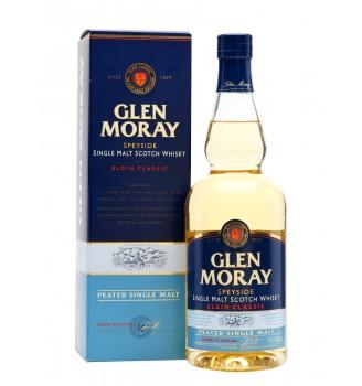 GLEN MORAY ELGIN CLASSIC PEATED SINGLE MALT WHISKY  700CC
