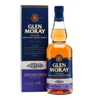 GLEN MORAY ELGIN CLASSIC PORT CASK FINISH SINGLE MALT WHISKY 700CC