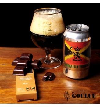 LA GOULUE BARRA CHOCOLATE RELLENA DE DUBBEL BEER 47GRS