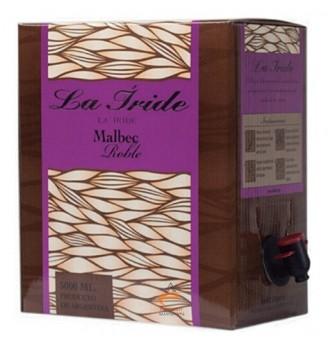 LA IRIDE BAG IN BOX MALBEC  5000CC