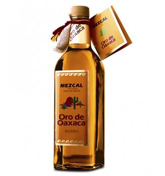 ORO DE OAXACA MEZCAL CON GUSANO  750CC